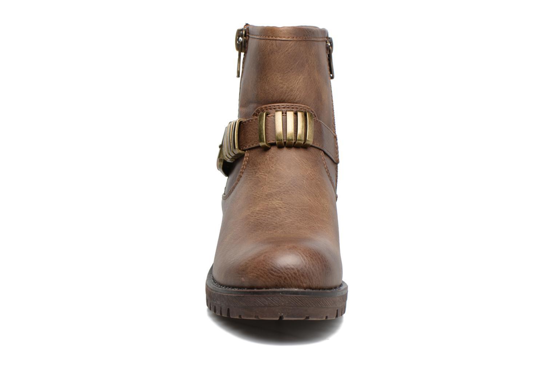 Bottines et boots Refresh Marion-62163 Beige vue portées chaussures