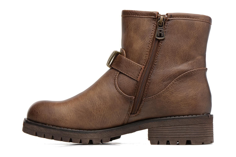 Bottines et boots Refresh Marion-62163 Beige vue face