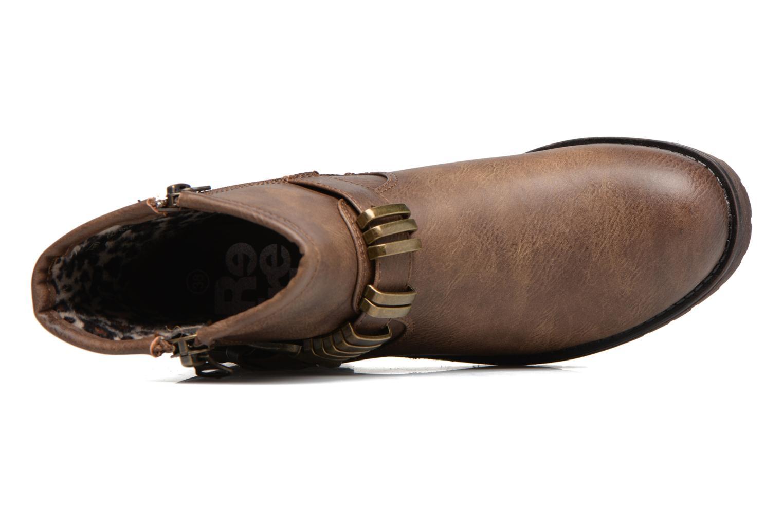 Bottines et boots Refresh Marion-62163 Beige vue gauche
