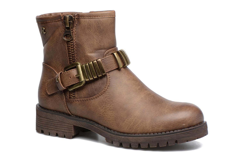 Bottines et boots Refresh Marion-62163 Beige vue détail/paire
