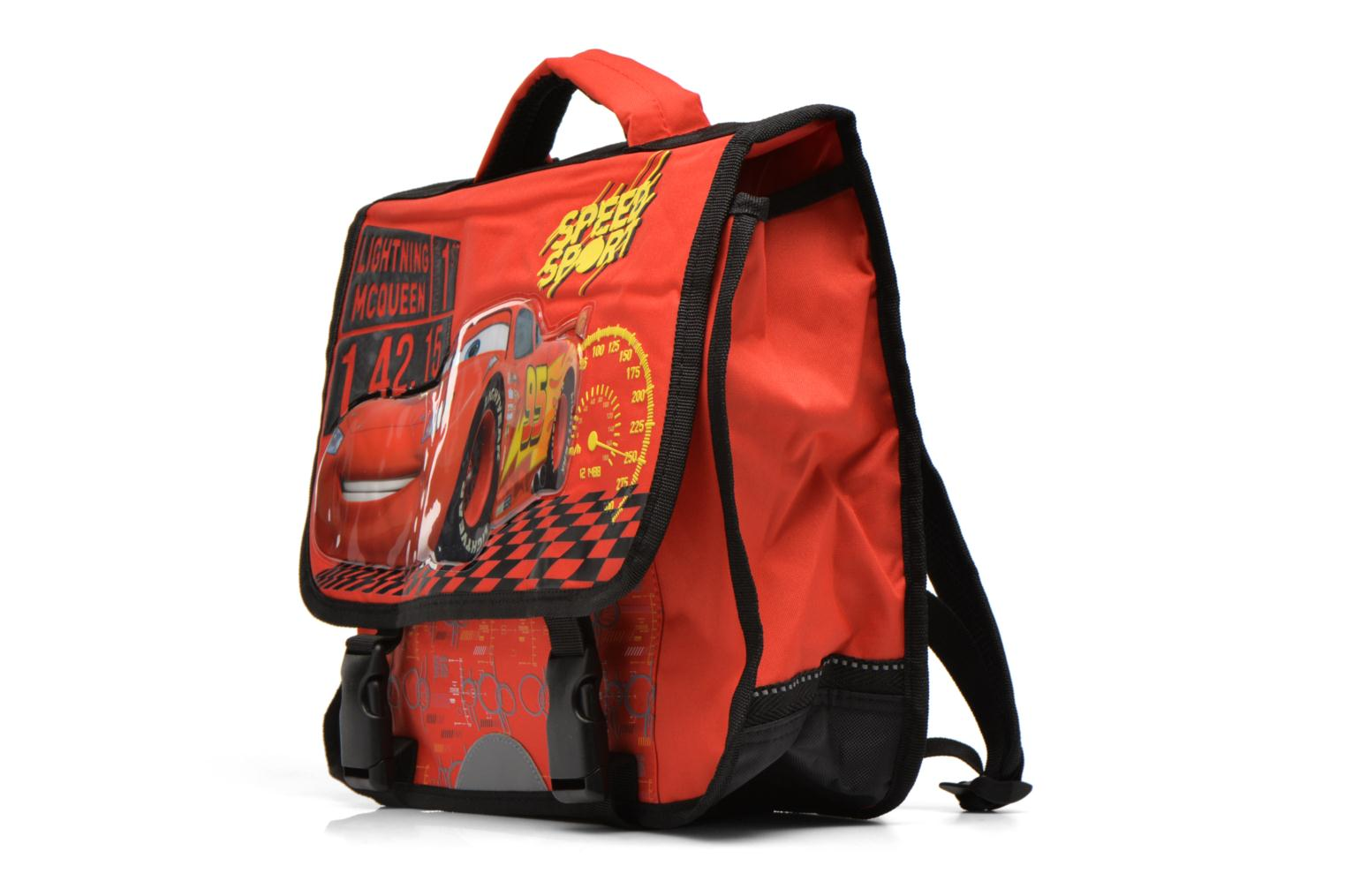 Schooltassen Disney Cartable 35cm Cars Rood model