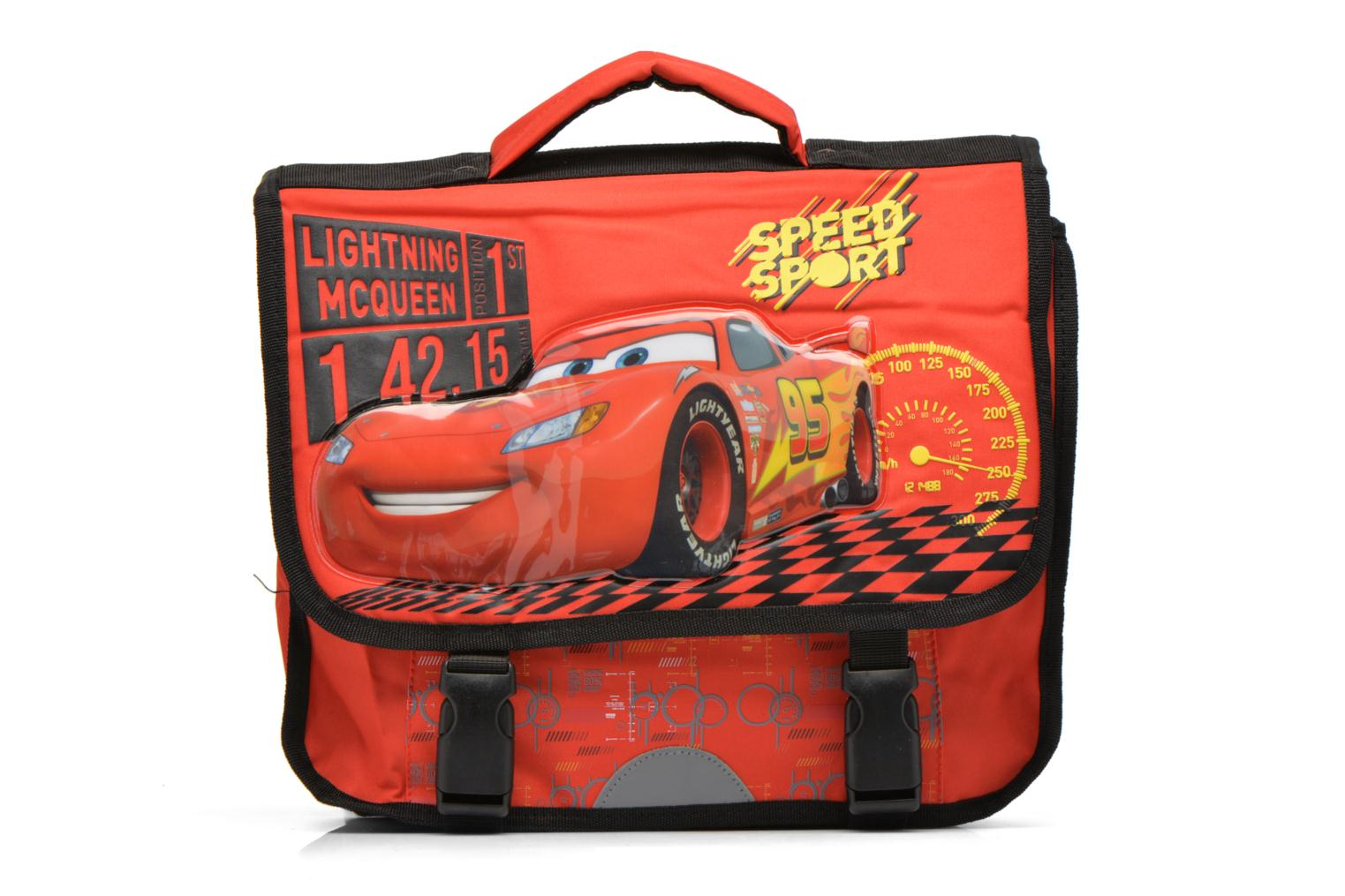 Schooltassen Disney Cartable 35cm Cars Rood detail