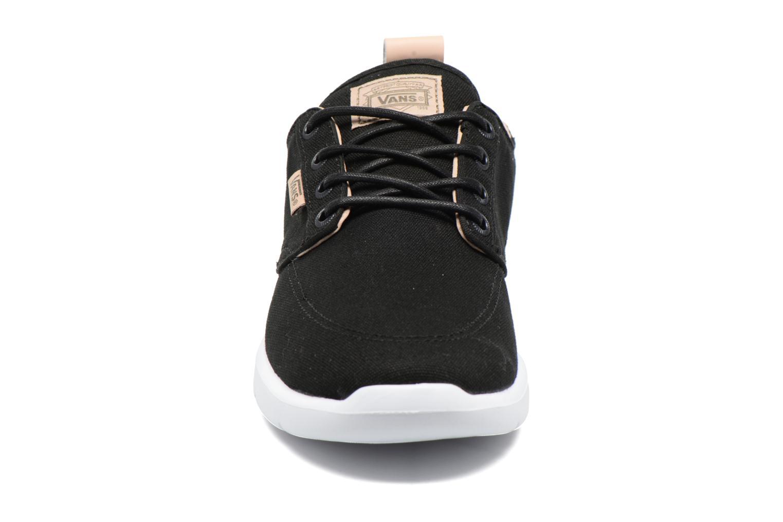 Sneaker Vans Brigata Lite schwarz schuhe getragen