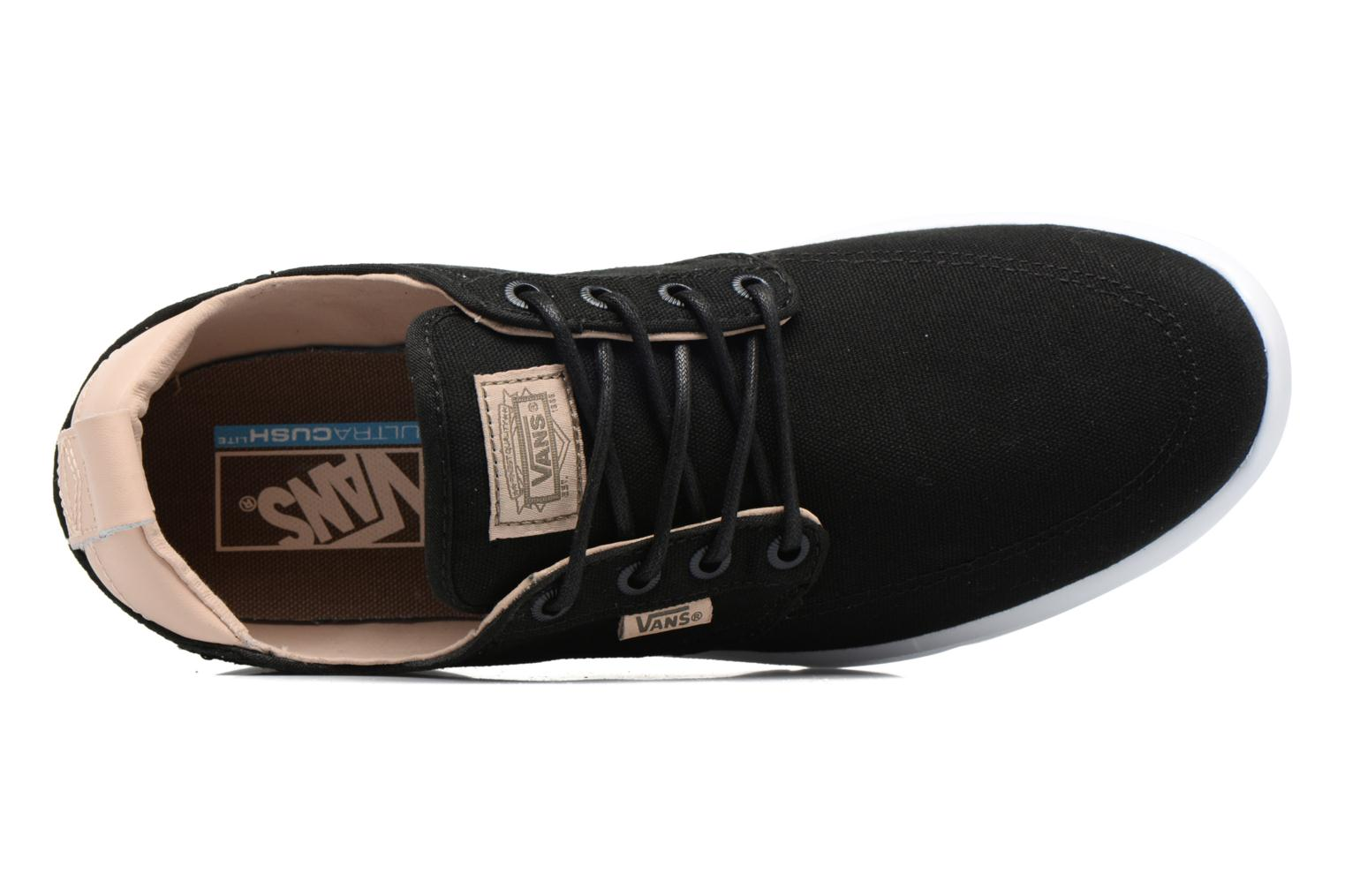 Trainers Vans Brigata Lite Black view from the left