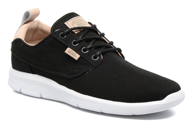 Sneaker Vans Brigata Lite schwarz detaillierte ansicht/modell