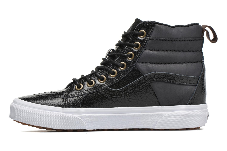 Sneaker Vans SK8-Hi 46 MTE schwarz ansicht von vorne