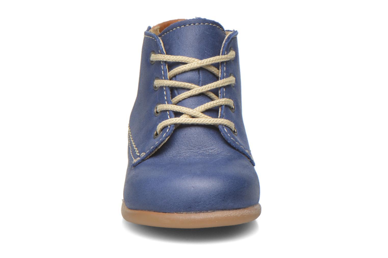 Chaussures à lacets Babybotte Fanfaron Bleu vue portées chaussures