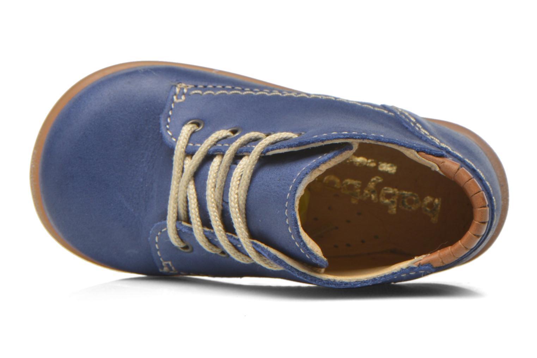 Chaussures à lacets Babybotte Fanfaron Bleu vue gauche