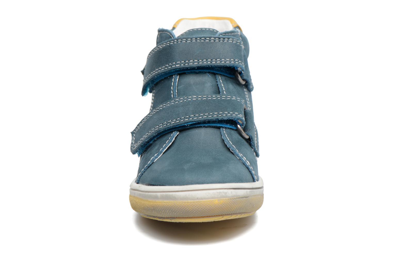 mit Klettverschluss Babybotte Antilles blau schuhe getragen