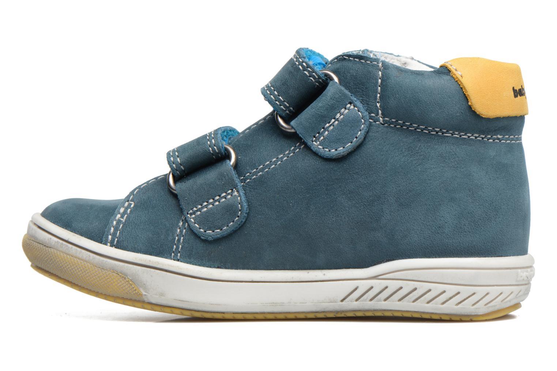 Zapatos con velcro Babybotte Antilles Azul vista de frente