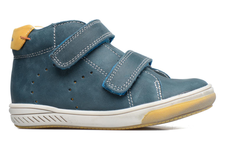 Zapatos con velcro Babybotte Antilles Azul vistra trasera