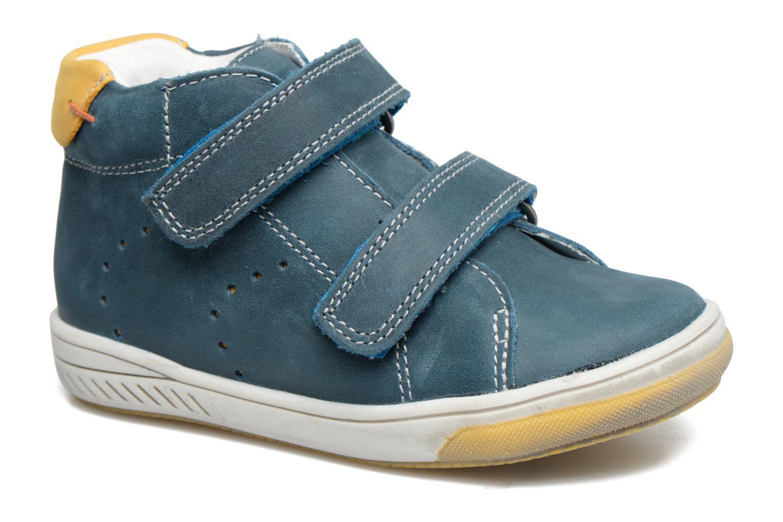 Zapatos con velcro Babybotte Antilles Azul vista de detalle / par