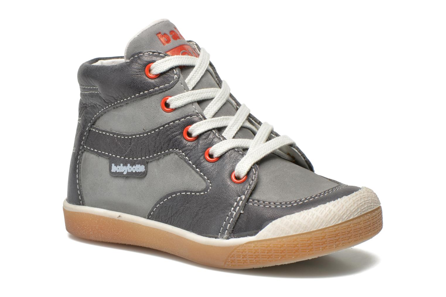 Ankle boots Babybotte Agle Grey detailed view/ Pair view