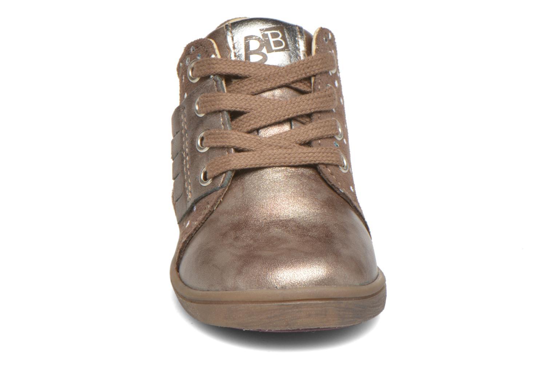Ankle boots Babybotte Frangipane Beige model view