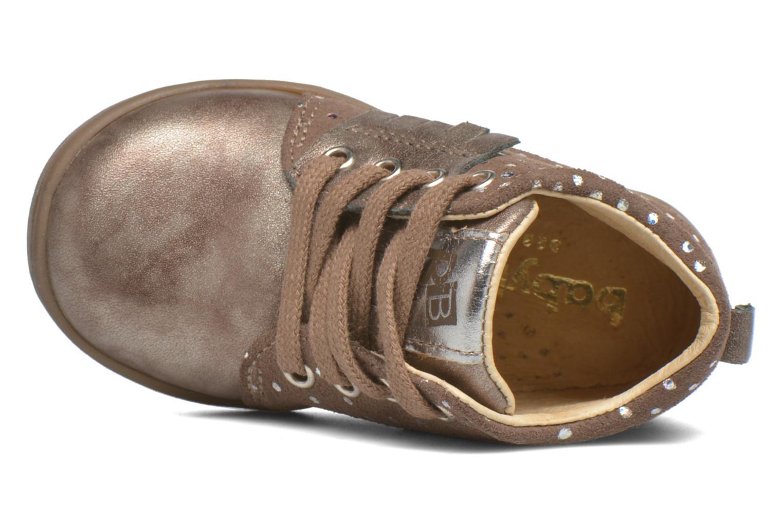 Bottines et boots Babybotte Frangipane Beige vue gauche