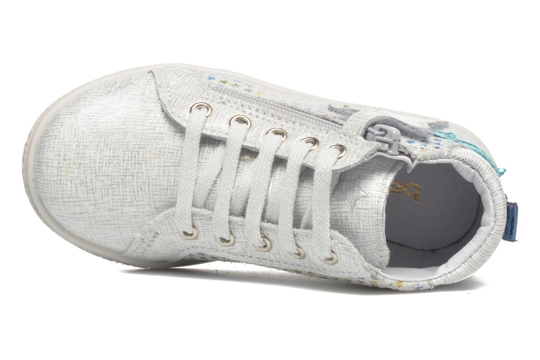 Sneaker Babybotte Adrenaline silber ansicht von links