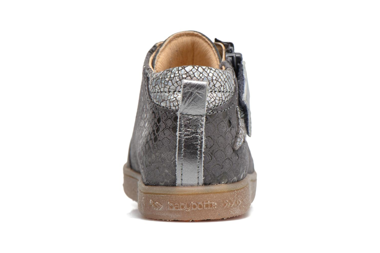 Trainers Babybotte Adrenaline Grey view from the right
