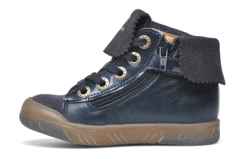 Sneaker Babybotte Artistar blau ansicht von vorne