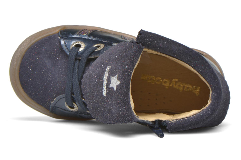 Sneaker Babybotte Artistar blau ansicht von links