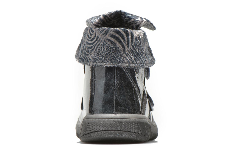 Chaussures à scratch Babybotte Acteur5 Gris vue droite