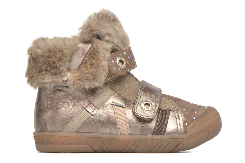 Chaussures à scratch Babybotte Artiwiniefl Marron vue derrière