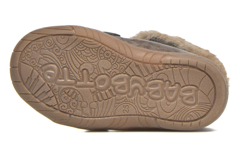 Chaussures à scratch Babybotte Artiwiniefl Marron vue haut