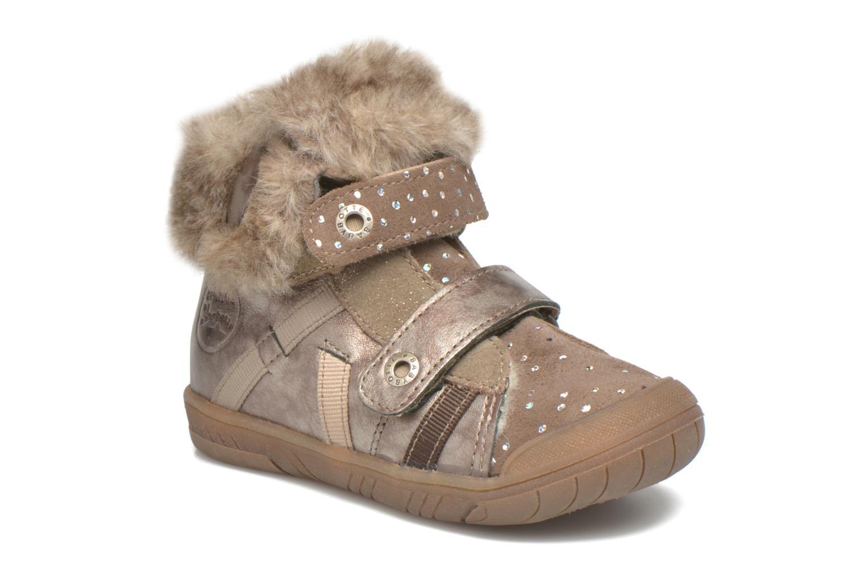 Chaussures à scratch Babybotte Artiwiniefl Marron vue détail/paire