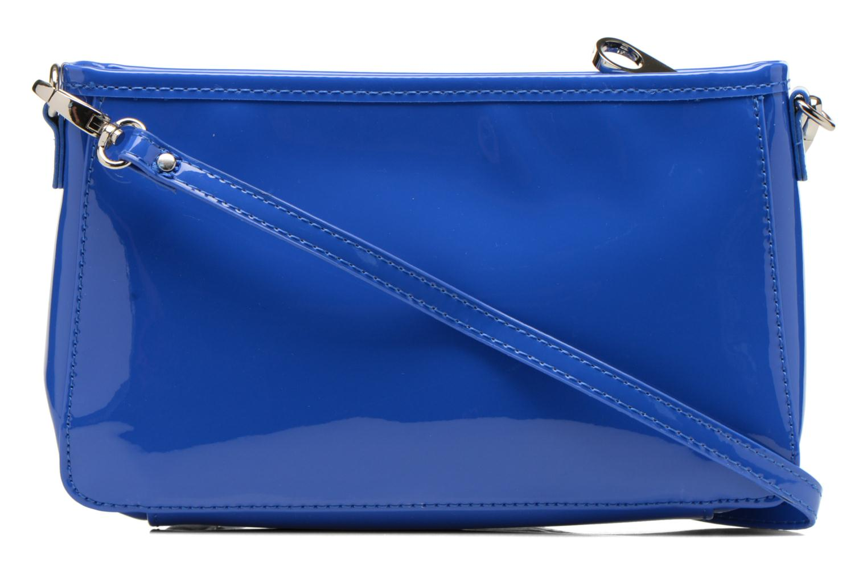 Clutch bags Les P'tites Bombes Pochette Verni Blue front view