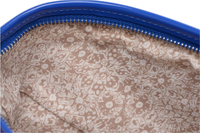 Clutch bags Les P'tites Bombes Pochette Verni Blue back view