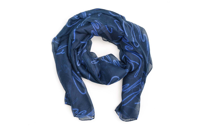 Divers Les P'tites Bombes Echarpe bicolore Bleu vue détail/paire