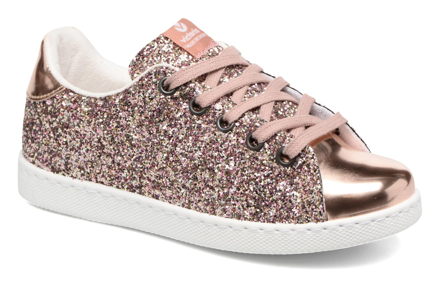Victoria Shoes DEPORTIVO BASKET GLITTER - Trainers - rosa