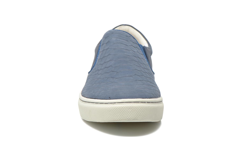 Baskets Jonak Graziella Bleu vue portées chaussures