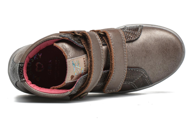 Sneaker Pablosky Estefania beige ansicht von links