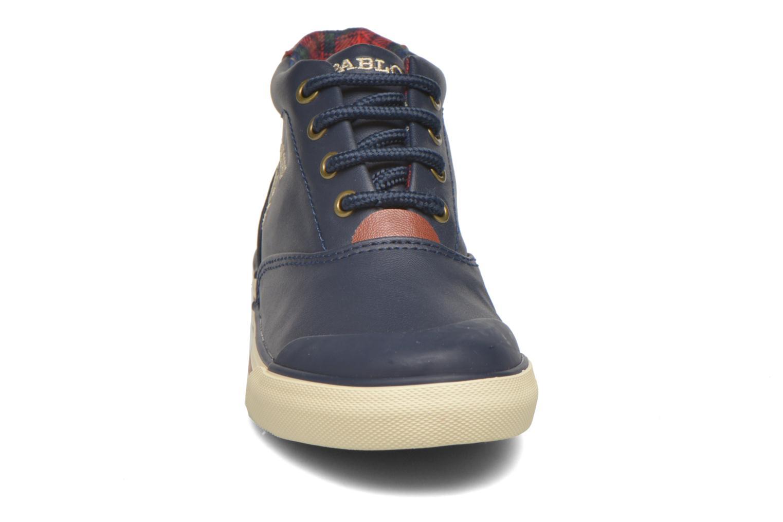 Baskets Pablosky Lazaro Bleu vue portées chaussures