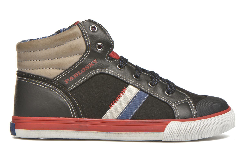 Sneakers Pablosky Luca Zwart achterkant