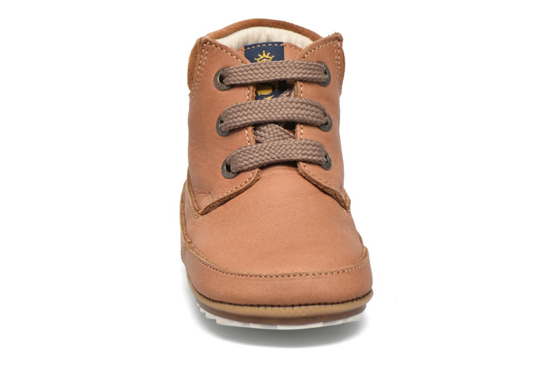 Chaussures à lacets Shoesme Stef Marron vue portées chaussures