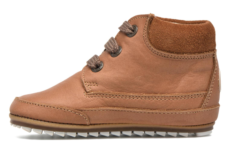 Chaussures à lacets Shoesme Stef Marron vue face