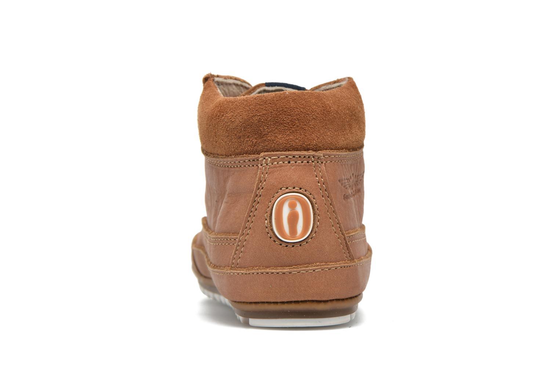 Chaussures à lacets Shoesme Stef Marron vue droite