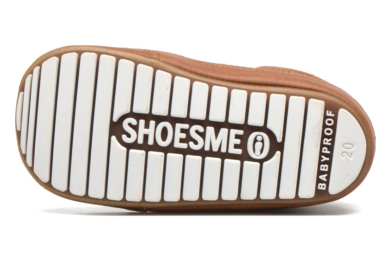 Schnürschuhe Shoesme Stef braun ansicht von oben