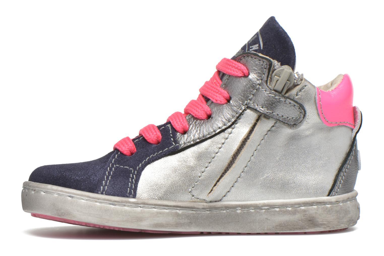 Sneaker Shoesme Samia blau ansicht von vorne