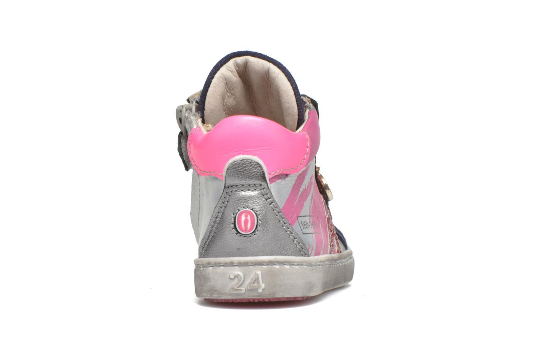 Sneaker Shoesme Samia blau ansicht von rechts