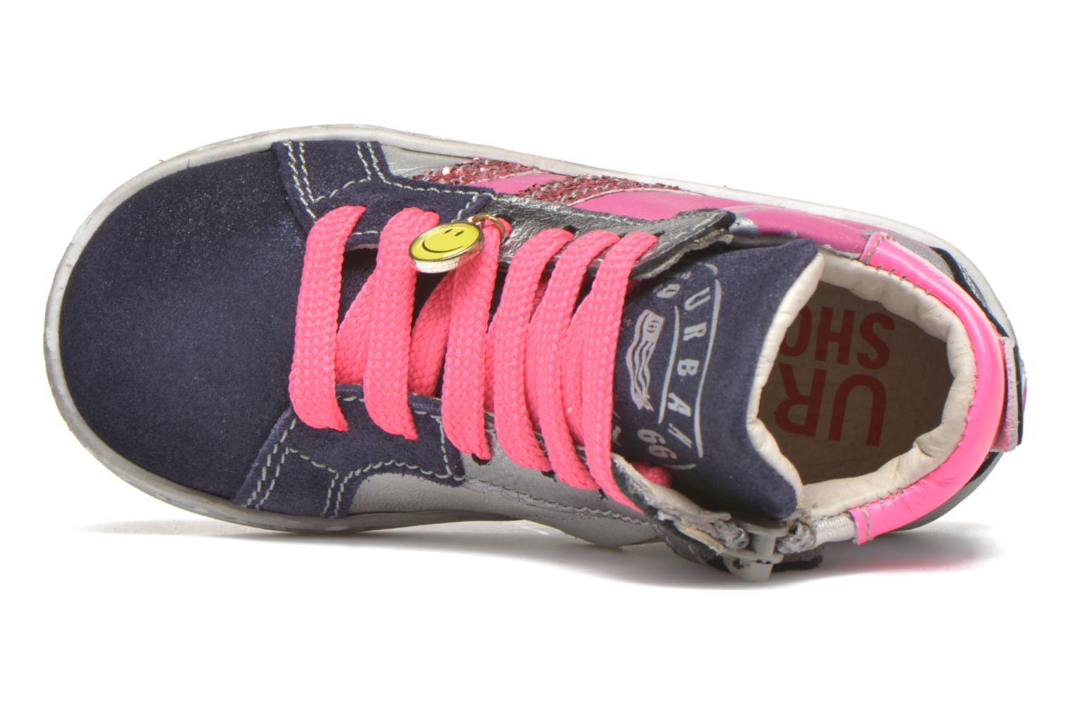 Trainers Shoesme Samia Blue view from the left