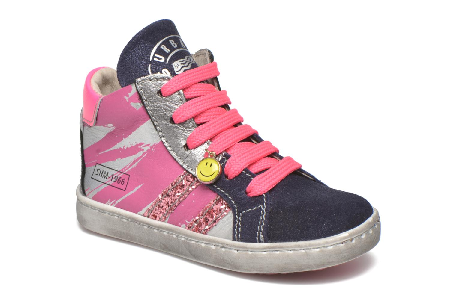 Trainers Shoesme Samia Blue detailed view/ Pair view