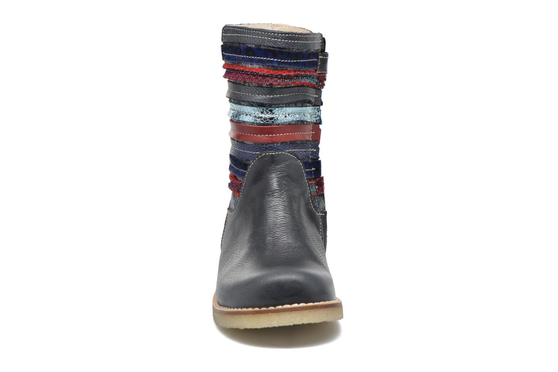 Stiefel Shoesme Sarah blau schuhe getragen