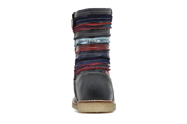 Botas Shoesme Sarah Azul vista lateral derecha