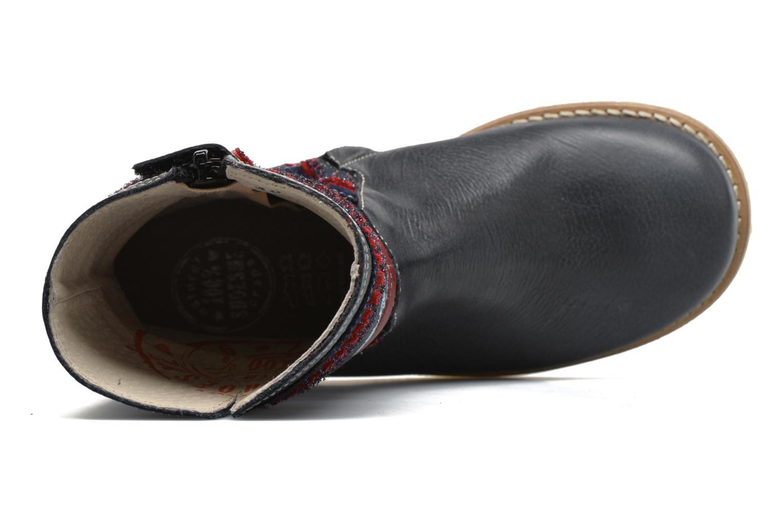 Botas Shoesme Sarah Azul vista lateral izquierda