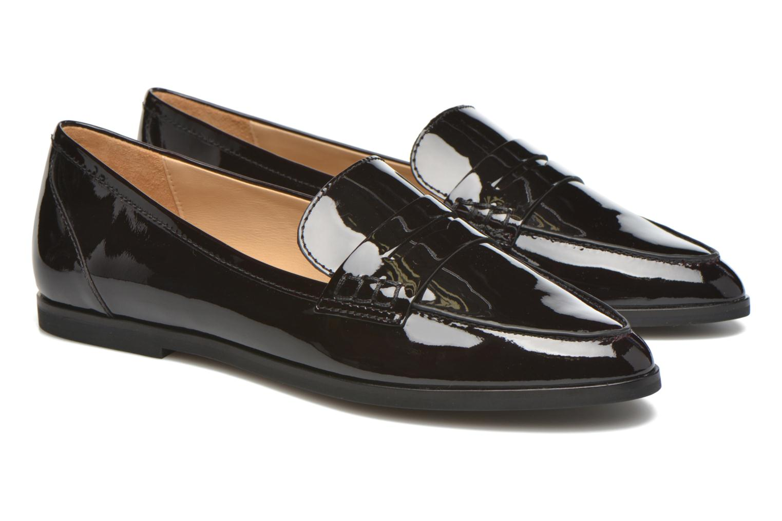 Loafers Michael Michael Kors Connor Loafer Burgundy 3/4 view