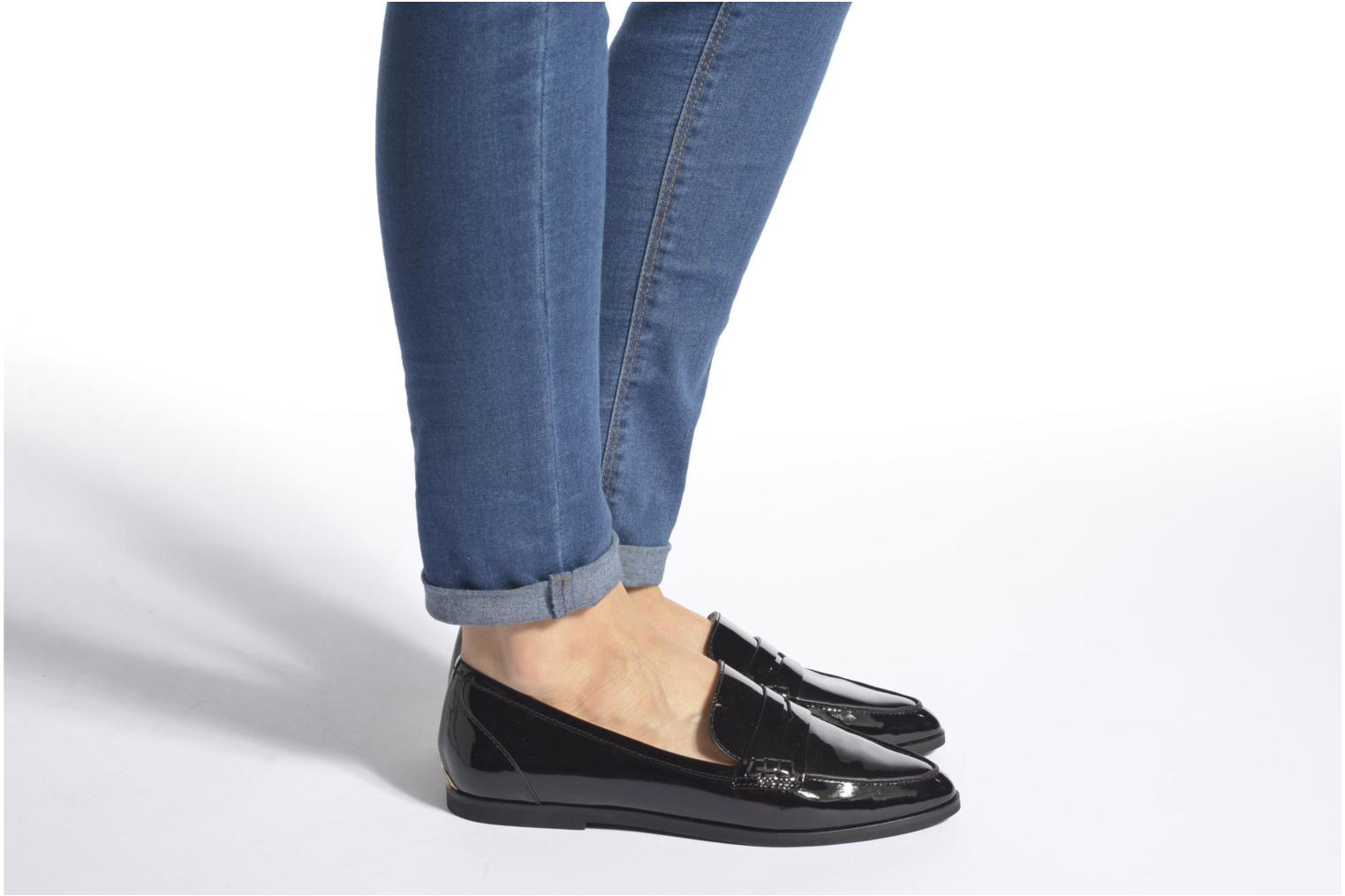 Loafers Michael Michael Kors Connor Loafer Burgundy view from underneath / model view