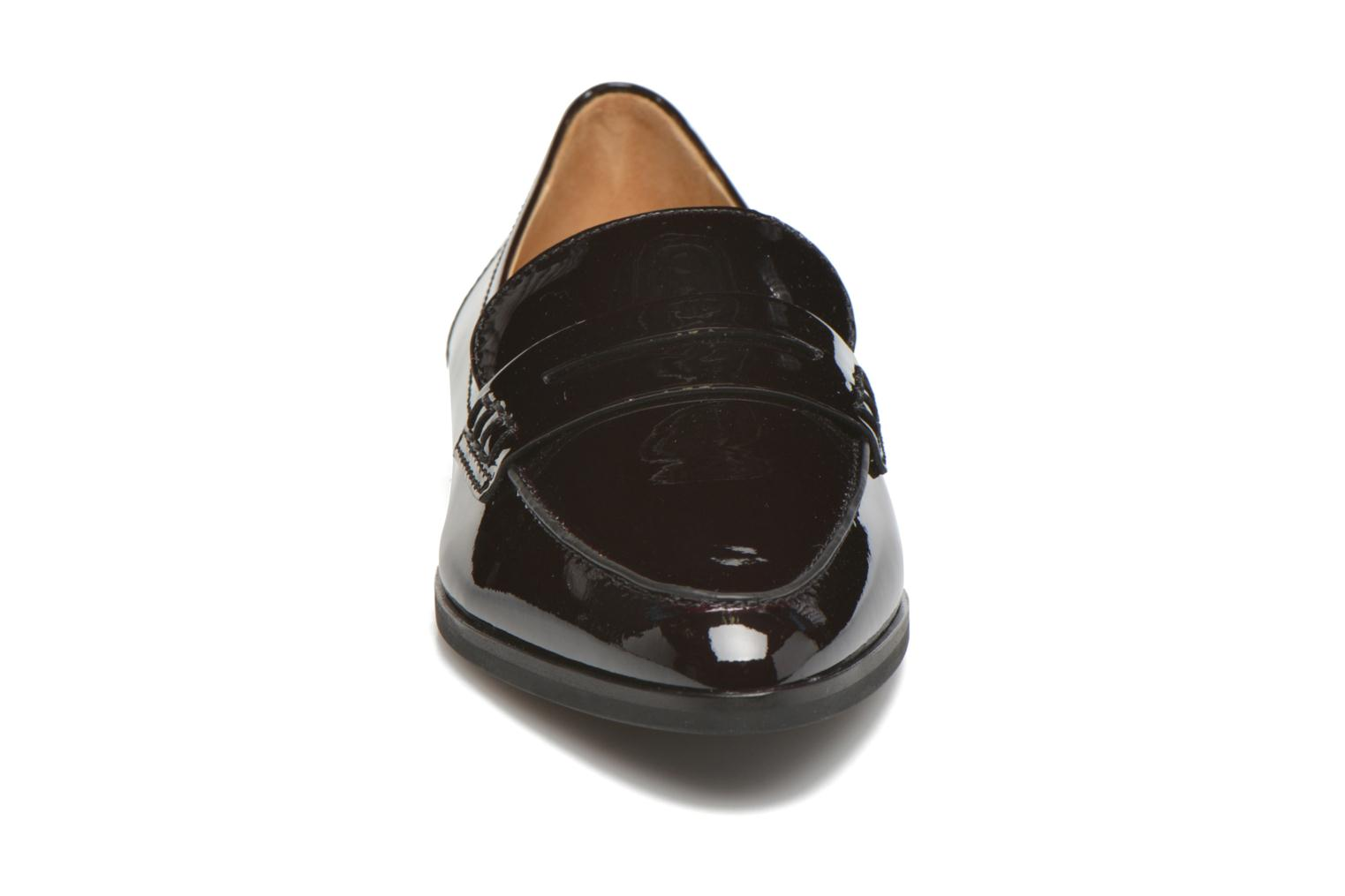 Loafers Michael Michael Kors Connor Loafer Burgundy model view