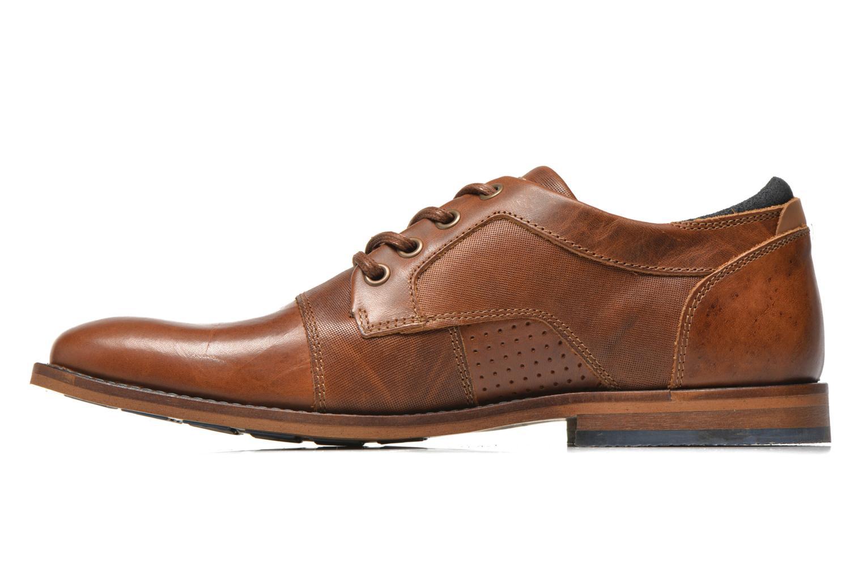 Chaussures à lacets Bullboxer Alvin Marron vue face